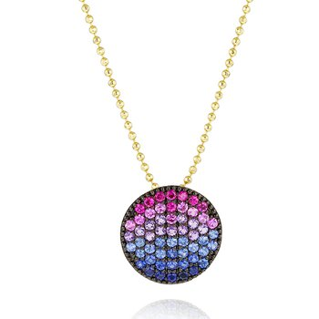 Dusk Medium Infinity Necklace