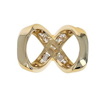 Diamond Infinity Slide Pendant