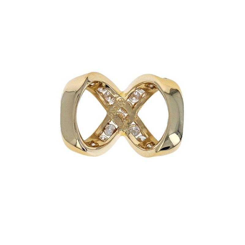 Estate Radcliffe Diamond Infinity Slide Pendant