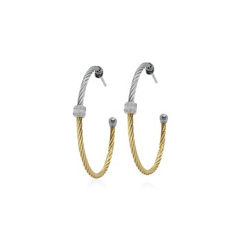 Colorblock Hoop Earrings