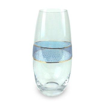 Panthera Indigo Glass Vase