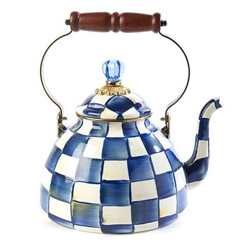 Royal Check Tea Kettle-3 Quart