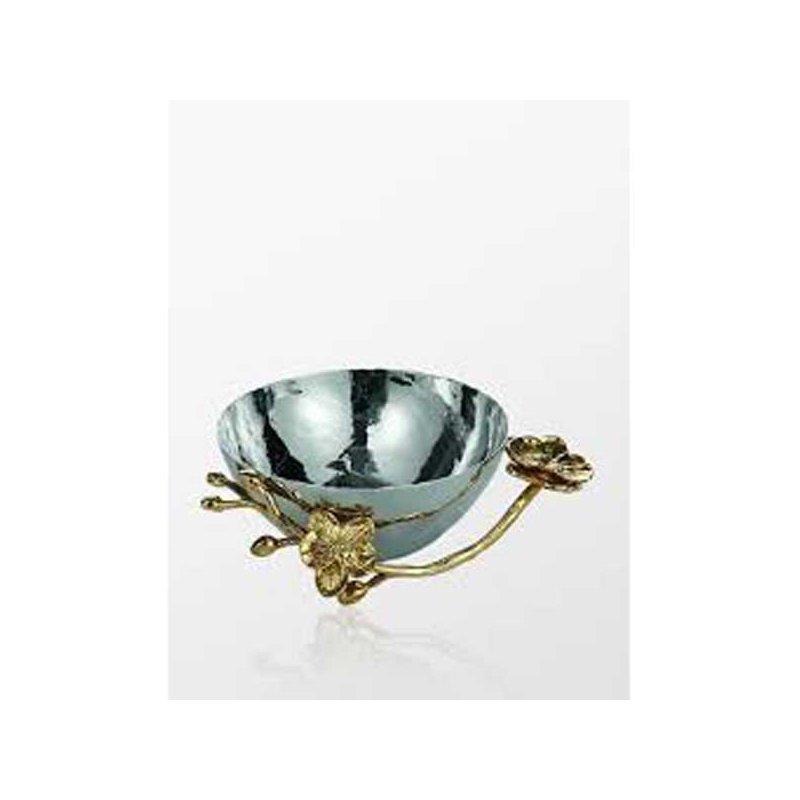 Michael Aram Golden Orchid Nut Dish