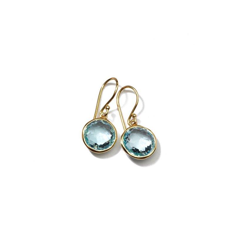 Ippolita Lollipop Small Blue Topaz Drop Earrings