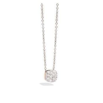 Nudo Pave Diamond Pendant