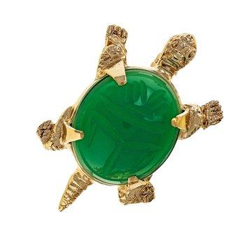 Scarab Turtle Pin