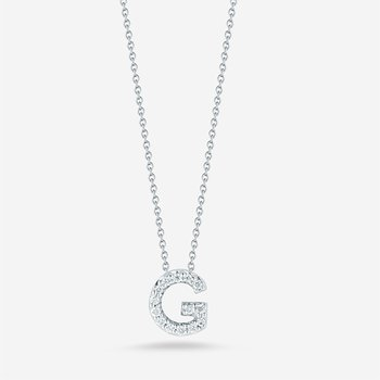 "Diamond ""G"" Pendant"
