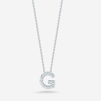 "Diamond ""G"" Pendant"