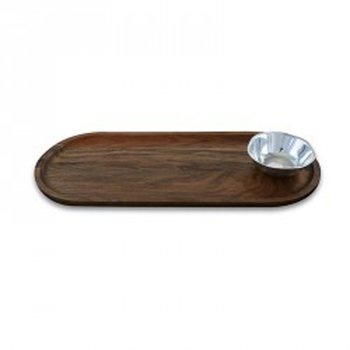 Cutting Board with Soho Round Bowl Mini