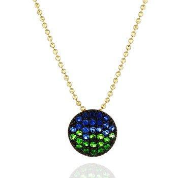 Marea Mini Infinity Necklace