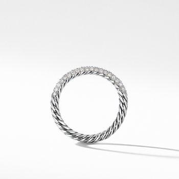 Petite Pave Ring with Diamonds