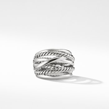 Crossover Wide Ring