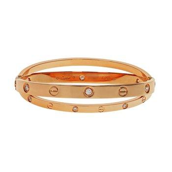 Double Love Diamond Bracelet
