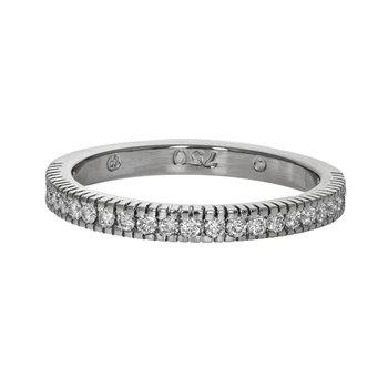 Half Diamond Rope Ring