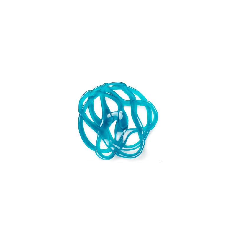 Kosta Boda Large Turquoise Basket