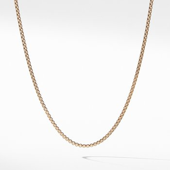 Small Box Chain in Gold