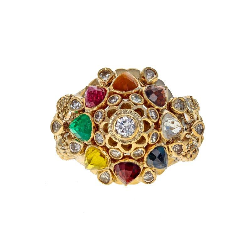 Estate Radcliffe Multicolor Domed Ring