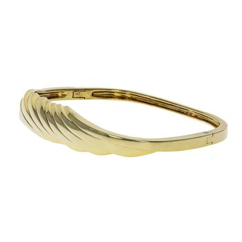 Square Twisted Bangle Bracelet