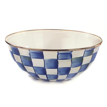 Royal Check Everyday Bowl-Medium