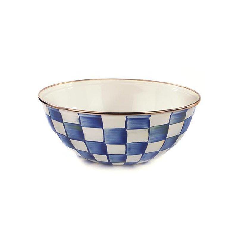 Mackenzie-Childs Royal Check Everyday Bowl-Medium