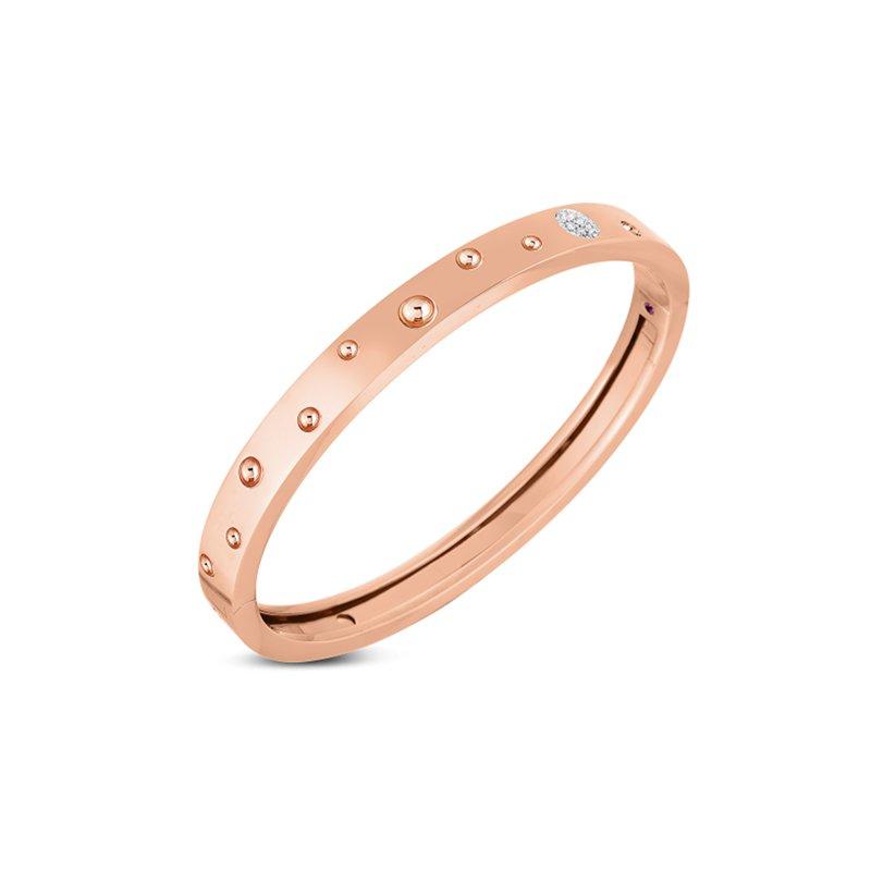 Roberto Coin Pois Moi Luna Bangle Bracelet