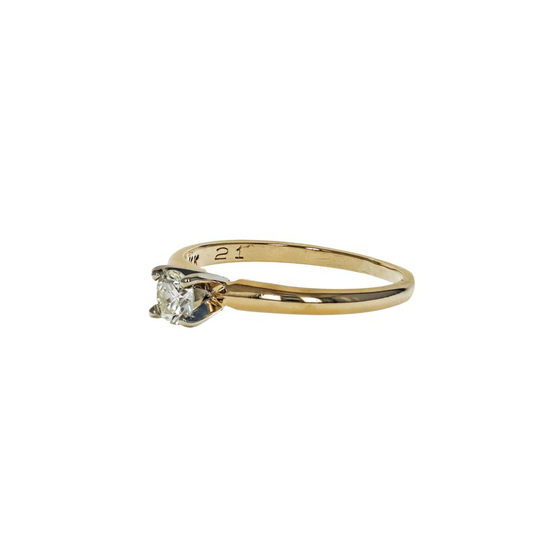 Estate Radcliffe Diamond Solitaire Ring