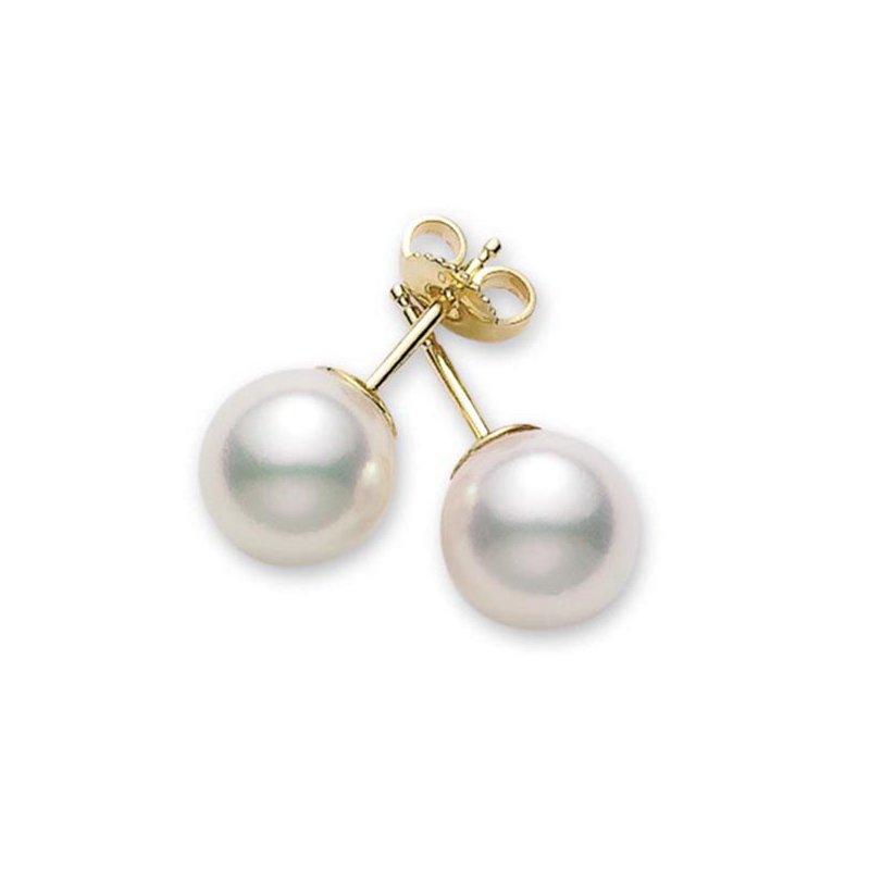 Mikimoto Akoya Pearl Stud Earrings