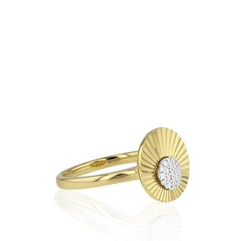 Mini Aura Offset Ring
