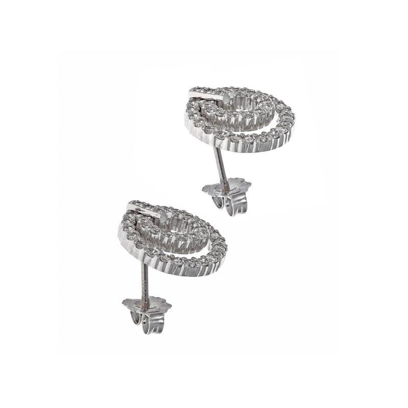 Estate Radcliffe Diamond Door Knocker Earrings