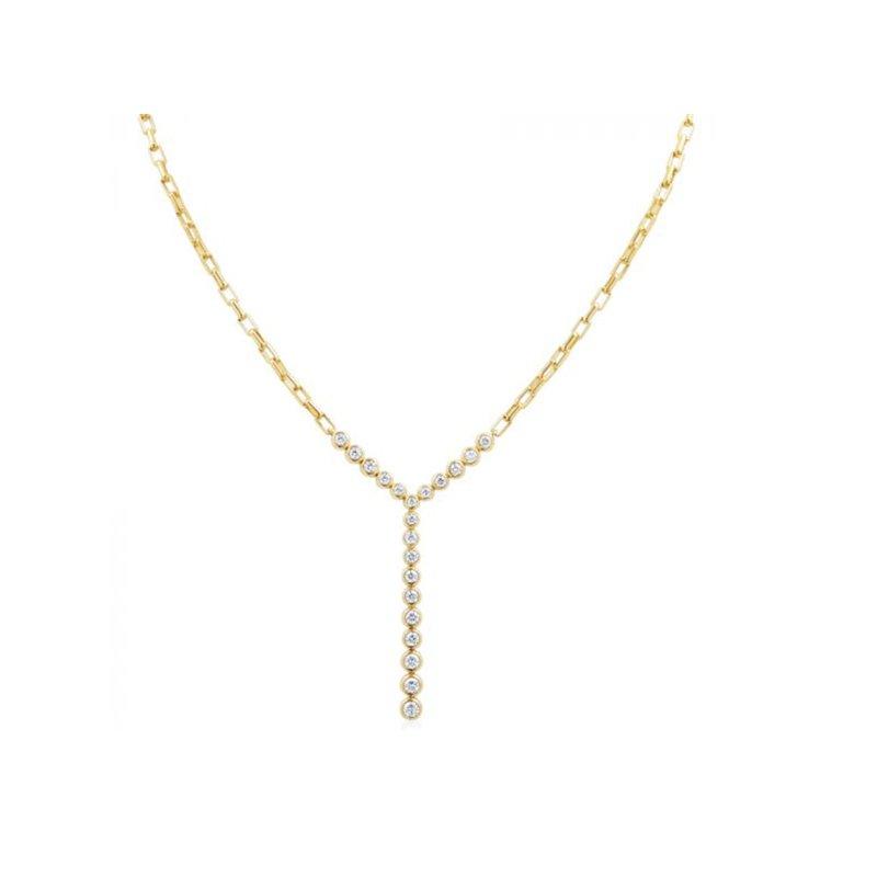 Gumuchian Moonlight Diamond Stiletto Necklace