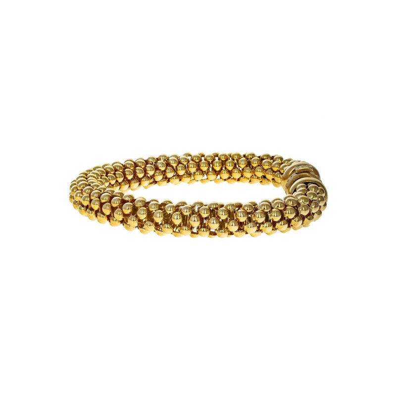 Estate Radcliffe Beaded Motif Stretch Bracelet