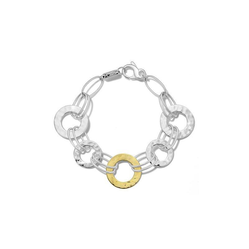 Ippolita Chimera Crinkle Hammered Disc Bracelet