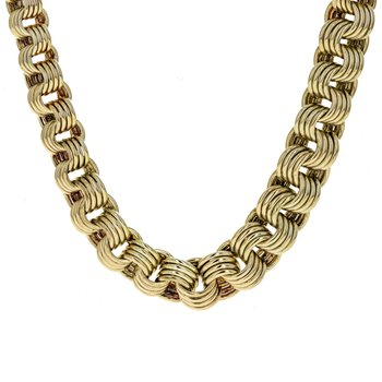 Graduated Chain Link Necklace
