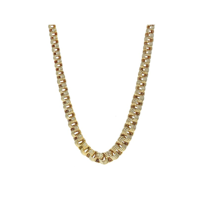 Estate Radcliffe Graduated Chain Link Necklace