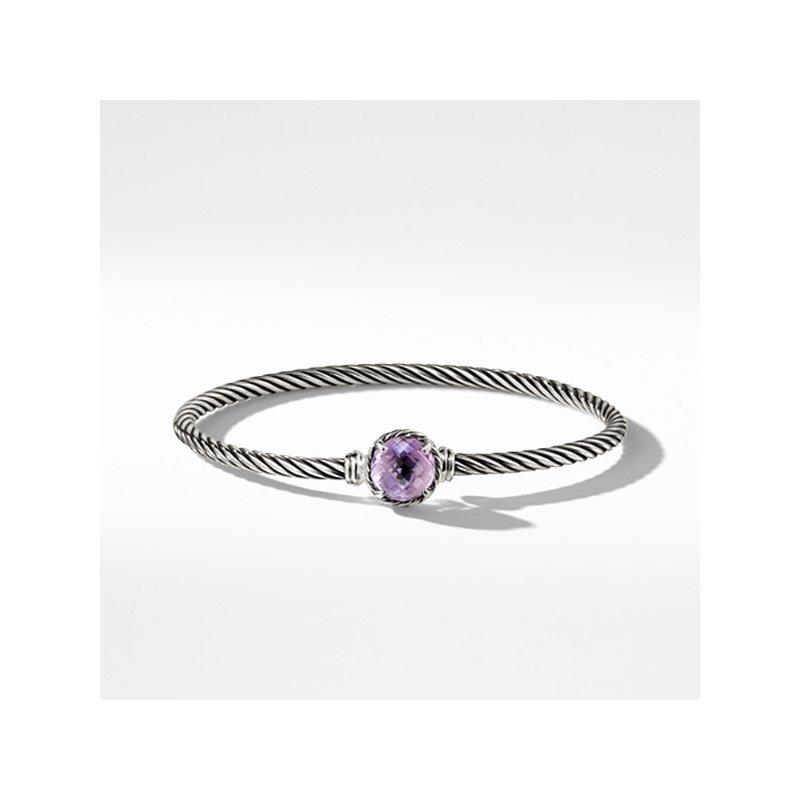David Yurman Chatelaine® Bracelet with Amethyst