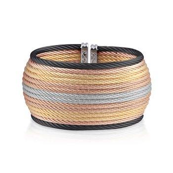 Multi-Colored Cable Oversized Cuff