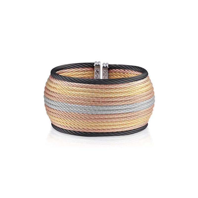 ALOR Multi-Colored Cable Oversized Cuff
