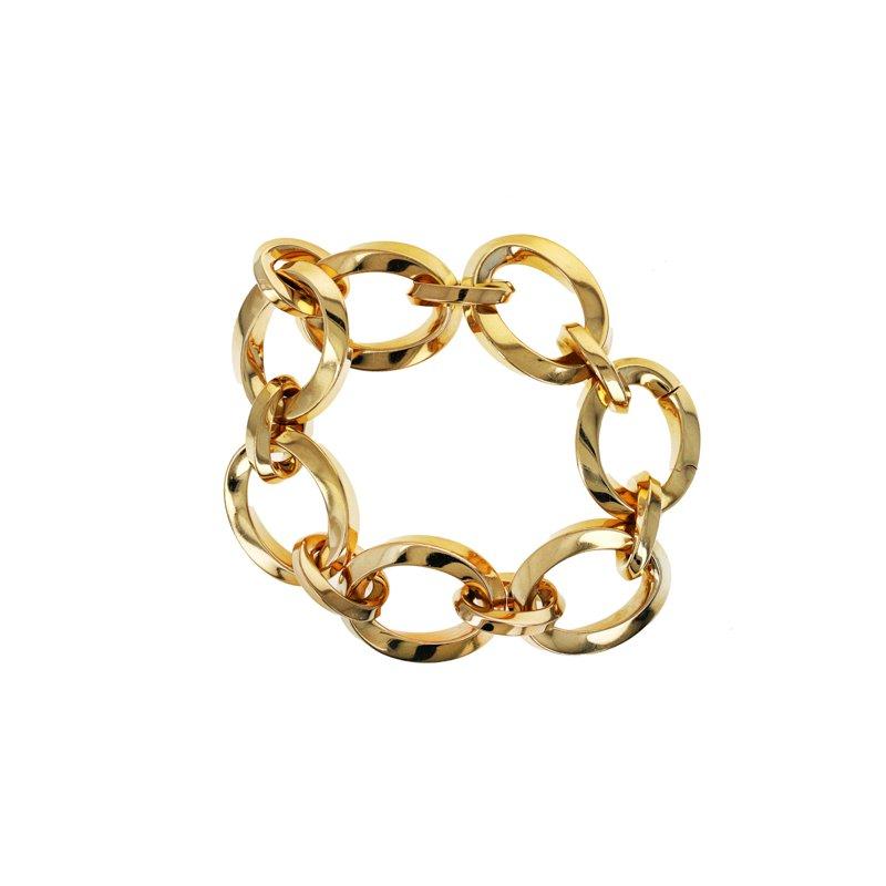Estate Tiffany & Co. Oval Link Chain Necklace & Bracelet