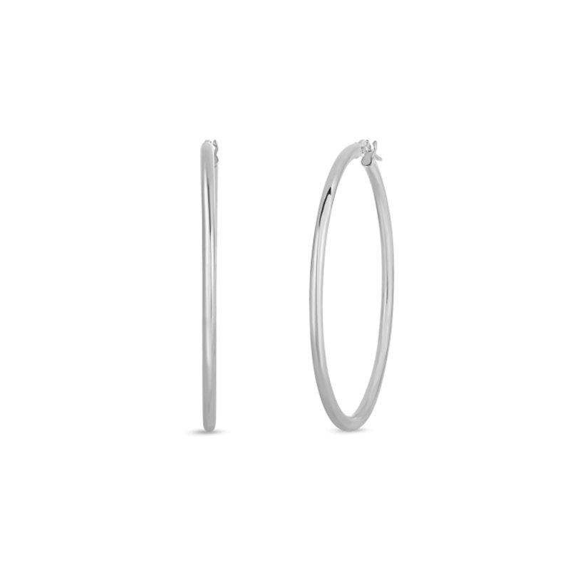 Roberto Coin 45mm Hoop Earrings