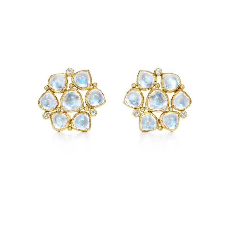 Temple St. Clair Cluster Earrings
