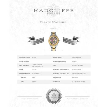 Yachtmaster (Ref. 168623)