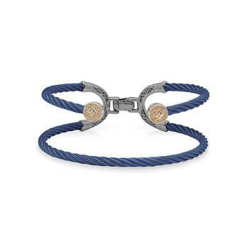 Blueberry Cable Balance Bracelet