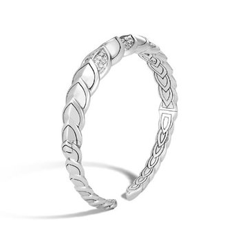 Naga Cuff with Diamonds