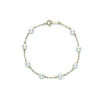 Akoya Pearl 'Tincup' Bracelet