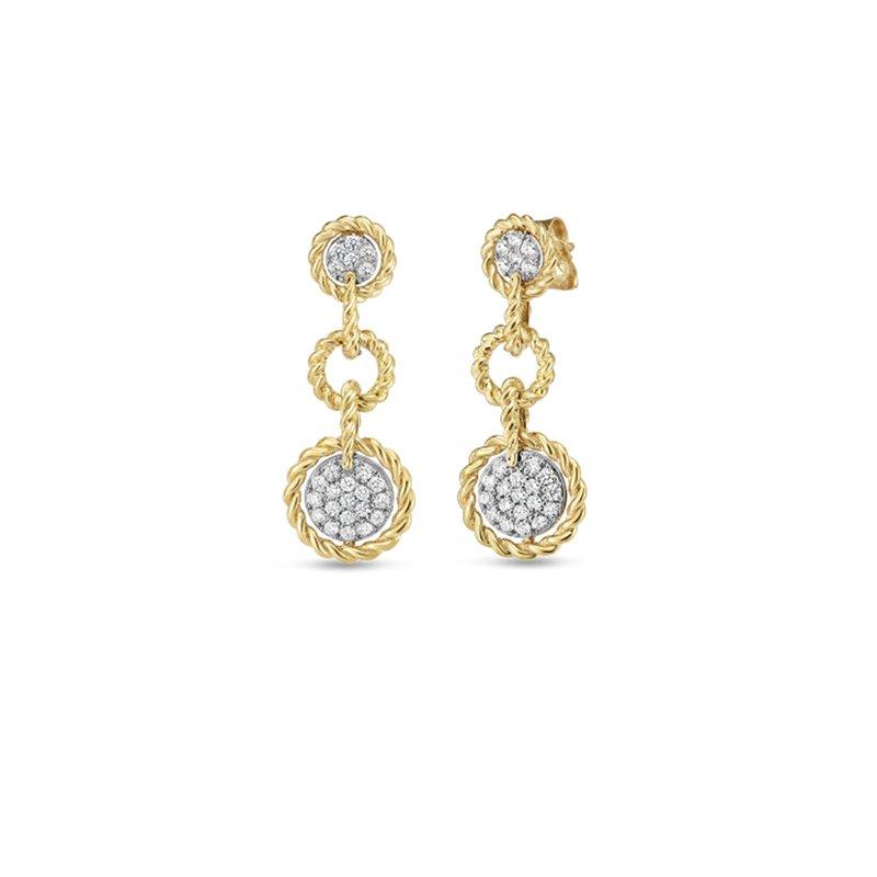 Roberto Coin New Barocco Earrings