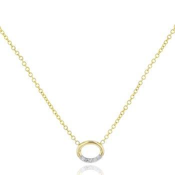 Single Link Necklace