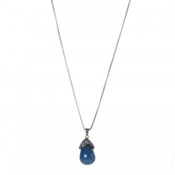 Classic Chain Silver Celestial Orb Pendant