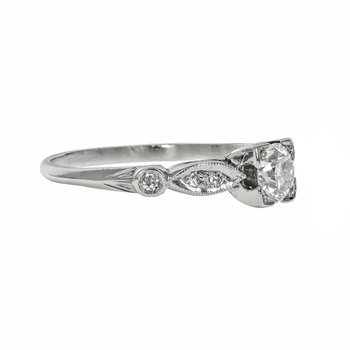 Illusion Head Diamond Ring