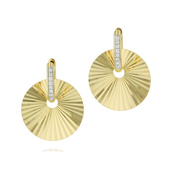 Aura Huggie Earrings