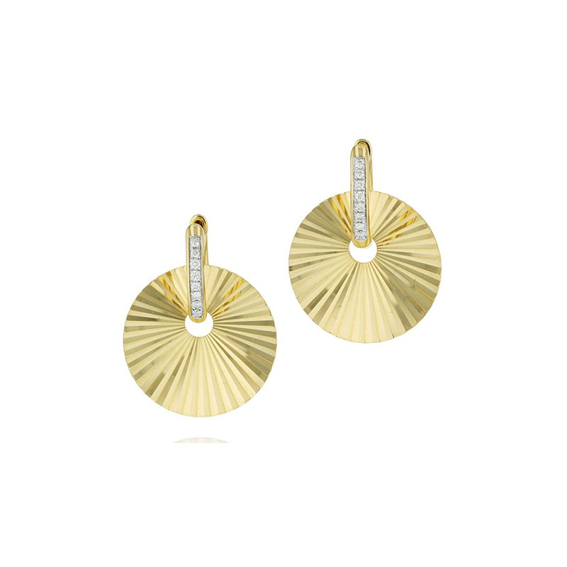 Phillips House Aura Huggie Earrings